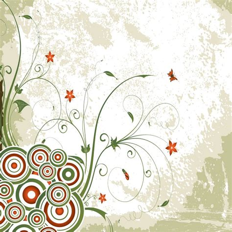 design background swirl vintage swirl floral background vector free vector