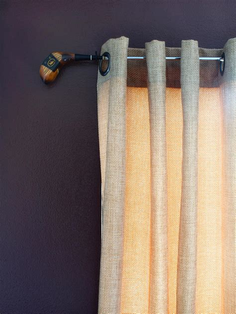 window hardware for curtains 10 creative ways to use household items as curtain