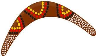 australian boomerang template clipart boomerang
