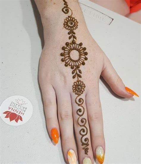 simple henna tattoo hd wallpaper