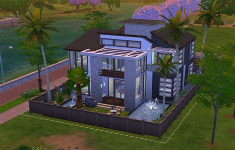 four house download modern charm sims online