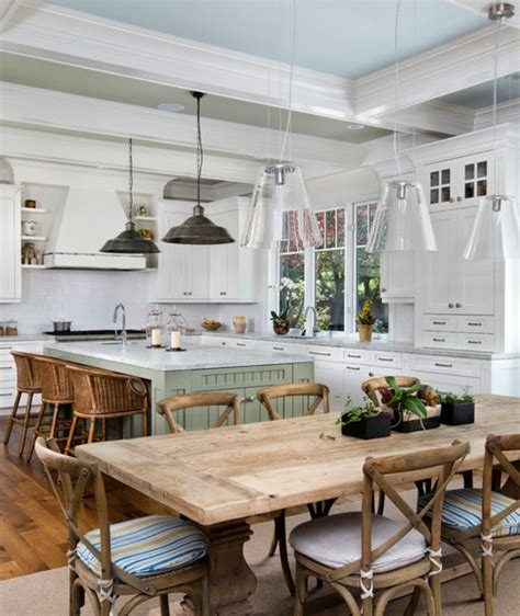 light over kitchen table rustic chic dining room inspiration megan brooke handmade