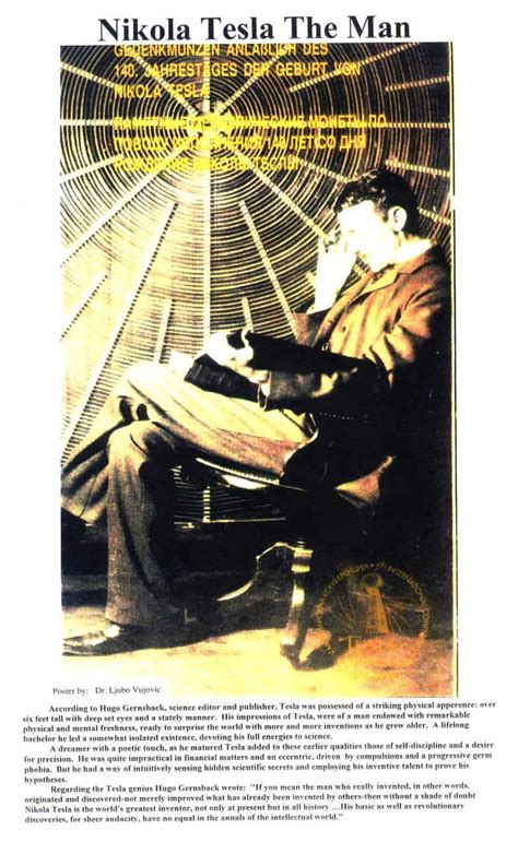 Did Nikola Tesla Write Any Books Tesla Posters Tesla Image