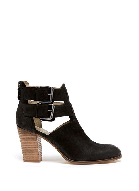 black nonie cut out ankle boot top navigation categories