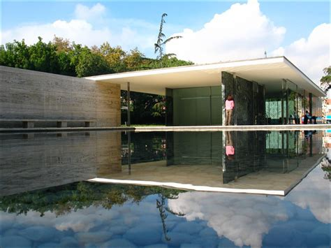 Barcelona Pavillon 1929 by To German Pavilion Barcelona Spain By Mies Der