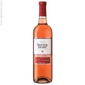 home wine sutter home the original white zinfandel california usa