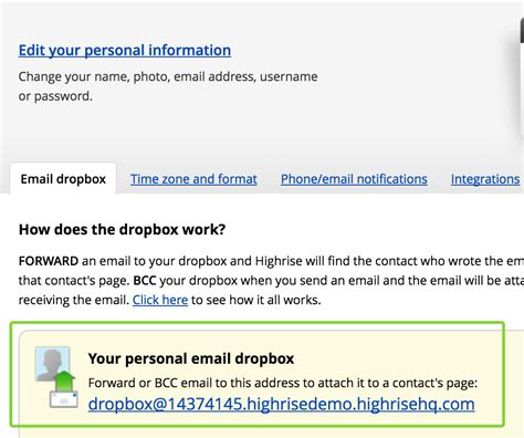 How To Find On Dropbox Start Here Get Email In Dropbox Address