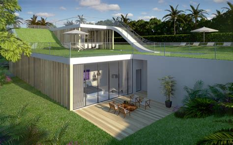 garden in house designs modern house design sloping site garden loop concept archinspire