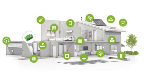 smart house intelligent home with of things