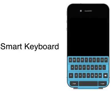 keyboard themes for iphone 5c teclado f 237 sico para iphone smart keyboard 187 muycomputer