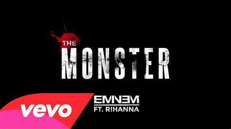 eminem feat eminem 2013 the monster feat rihanna