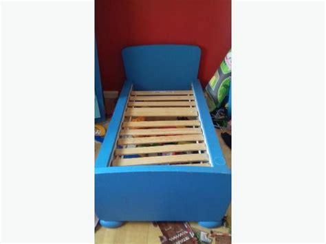 ikea kinderbett mammut blau blue ikea mammut toddler bed walsall wolverhton