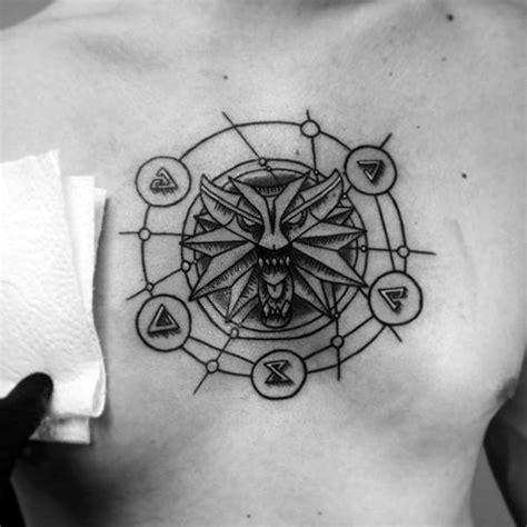 witcher tattoos black ink nice design  witcher symbol golfiancom