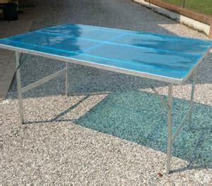 tavoli per mercatini usati 4 tavoli usati con gambe ripiegabili 150x100cm posot class