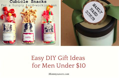 Gift Ideas 10 - easy diy gift ideas for 10 mommysavers