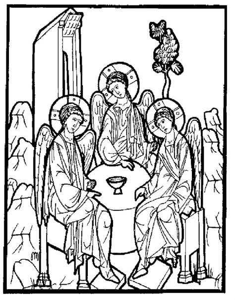 orthodox christian coloring pages orthodox saints colouring book orthodox pinterest