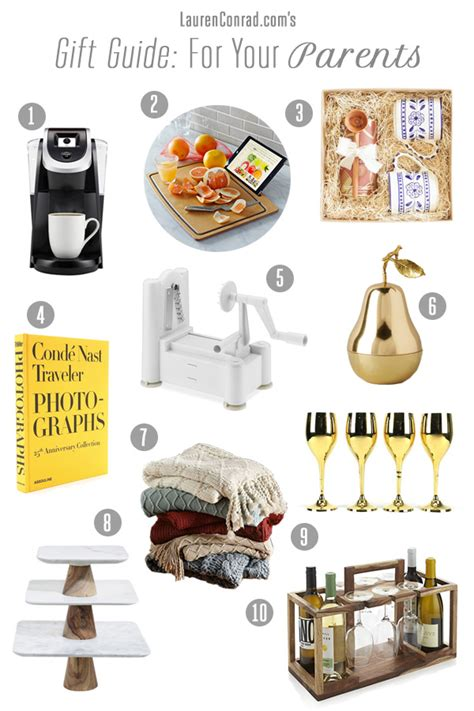 holiday gifts for parents to be gift guide what to get your parents conrad