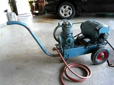 air compressor quincy model x8 1951 vintage