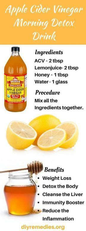 Apple Cider Vinegar As A Liver Detox by Best 25 Apple Cider Vinegar Detox Ideas On