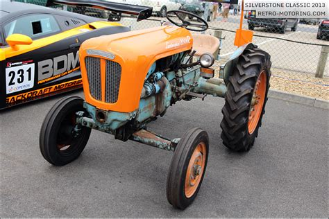 Vintage Lamborghini Tractor Lamborghini Tractor At The Silverstone Classic 2013