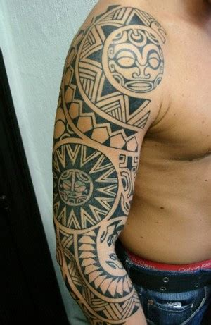 tattoo cover up hawaii polynesian inspired sleeve and cover up by dan dimattia