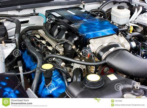 mustang saleen engine 2009 ford mustang saleen engine stock photo image 13014360