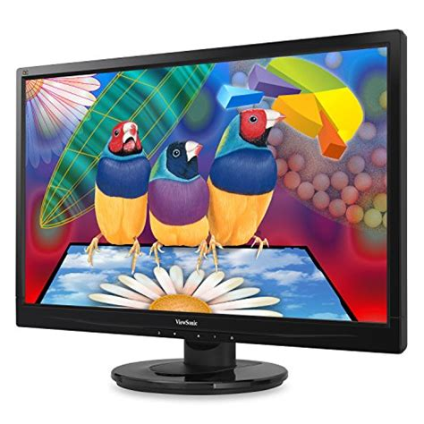 Monitor Viewsonic Va708a Led Backlight Original Resmi viewsonic 24 quot led lcd monitor 5ms widescreen with speakers va2446m led check back soon blinq