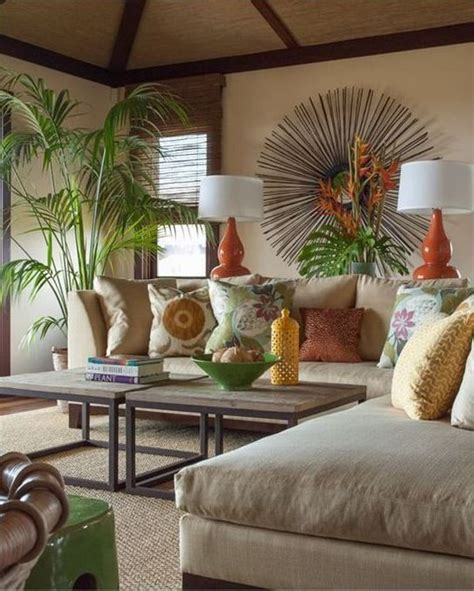 Tropical Decorating Ideas For Living Rooms by Best 25 Tropical Living Rooms Ideas On