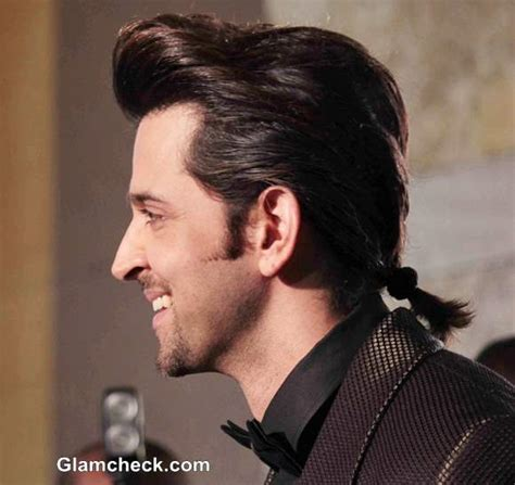 how to do hrithik hairstyle hritik roshan s new hairstyle sports a ponytail at gq