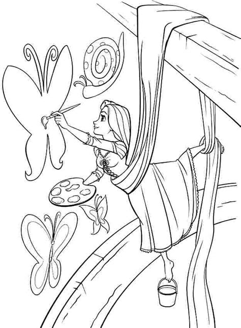 coloring book tangled and frozen for ages 4 10 books disney rapunzel coloring pages az coloring pages