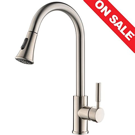 top 5 best kitchen faucets reviews 2017 best pull down top 5 best kitchen faucet with sprayer brushed for sale