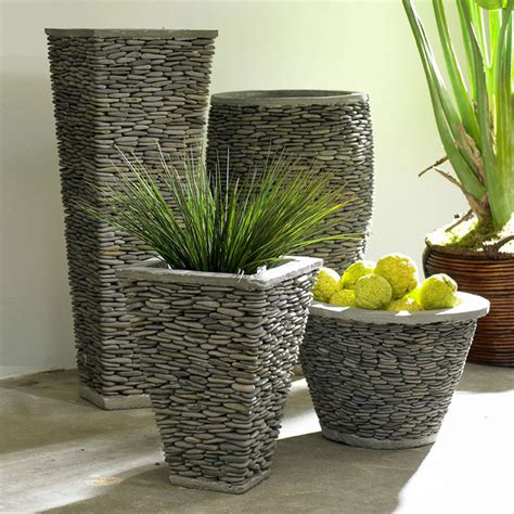vasi in resina per esterni moderni 40 vasi da giardino e da esterno moderni ed originali