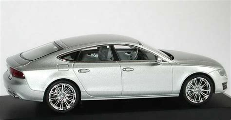 Audi A7 Modellauto by Audi A7 Sportback Eissilber Met Werbemodell Kyosho