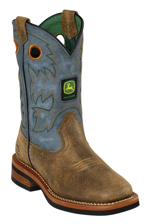 s deere boots deere childrens square toe johnny popper boots