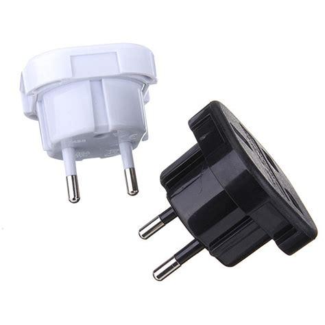 Hv9085 Universal Eu 2 Adapter To 3 Pin Pl Kode Bis9139 1 2 pin universal uk to eu travel power charger adapter