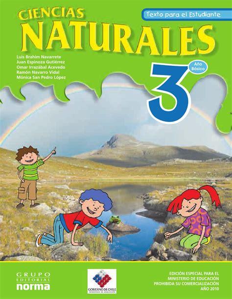 libro de ciencias naturales tercer grado ciencias naturales 3 basico primaria chileno ciencia y