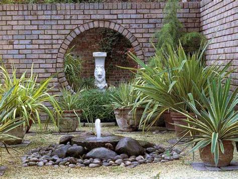 easy backyard water features diy backyard ideas inspiring and simple water fountain designs