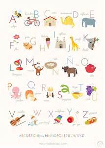 Name Wall Stickers Australia abecedario infantil 161 5 opciones para imprimir gratis