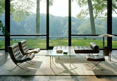 the most brilliant works of modern architecture the glass house by philip johnson