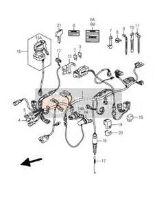 suzuki lt a400 eiger 4x2 2004 spare parts msp