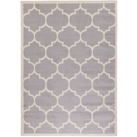 8x10 gray area rug berrnour home contemporary moroccan trellis gray 7 ft 10 in x 9 ft 10 in area rug hs1553