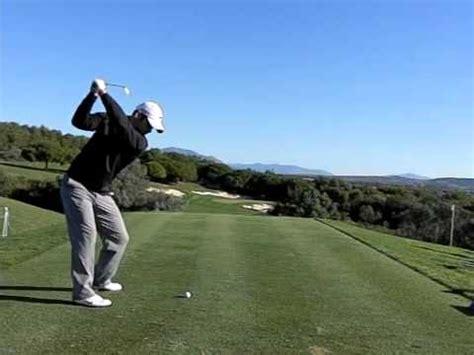 paul casey golf swing paul casey super slow motion golf swing youtube
