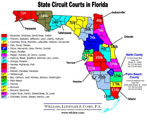 circuit court map circuit courts images