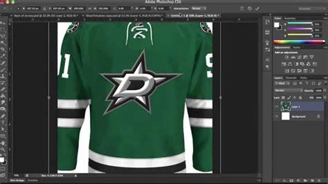 templates jersey photoshop hockey jersey template tutorial part 3 youtube