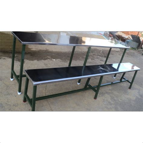 ss bench steel dining table manufacturer stainless steel dining