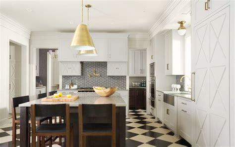checkerboard kitchen floor the granite gurus 10 kitchens with checkerboard floors