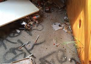 Rooms Found In Houses by Used Syringes And Walls Covered In Graffiti Inside Australia S Abandoned Homes Daily Mail