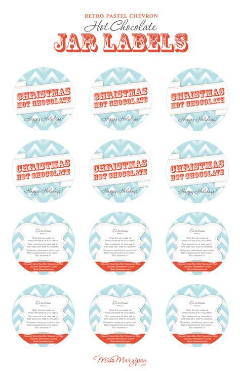 free printable gift jar labels 12 best images of free printable labels for homemade gifts