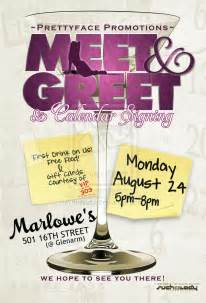 meet and greet flyers templates meet n greet flyer by thatladyj on deviantart