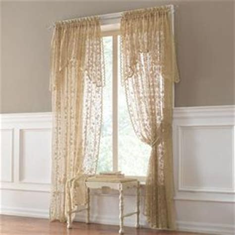 sears lace curtains lace curtains valances and curtains on pinterest